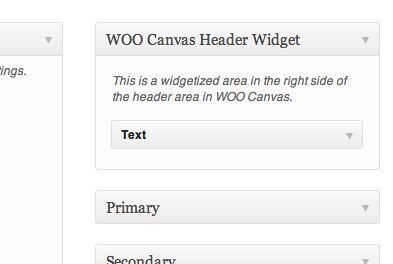 It's easy: it's just a regular widget.