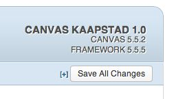What version of Canvas are you using? Check it out upper right.