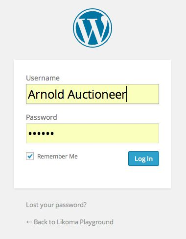 Logging into WordPress is easy ... once you know the URL.